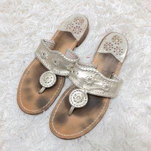Jack Rogers Navajo Hamptons Flat Sandals